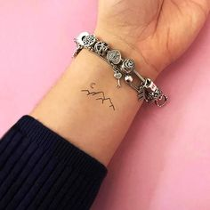 Cute Little Tattoos, Tiny Tattoos For Girls, Cute Tattoos For Women, Wrist Tattoos For Women, Pretty Tattoos, Cute Wrist Tattoos, Cute Small Tattoos, Cute Tats, Cute Tattoos With Meaning