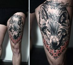 19 Best Upper Thigh Tattoos For Men Images Thigh Tattoo Men Upper