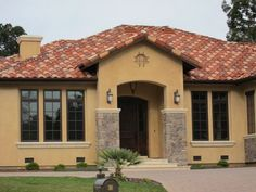 paint colors spanish exterior homes rustic mediterranean colonial houses stucco