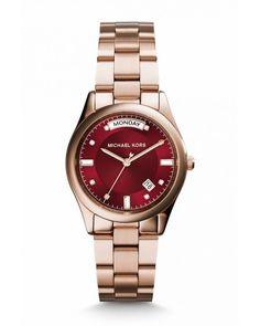 ad198152848b Michael Kors MK6103 Women s Rose Gold-tone Stainless Steel Case Quartz Watch