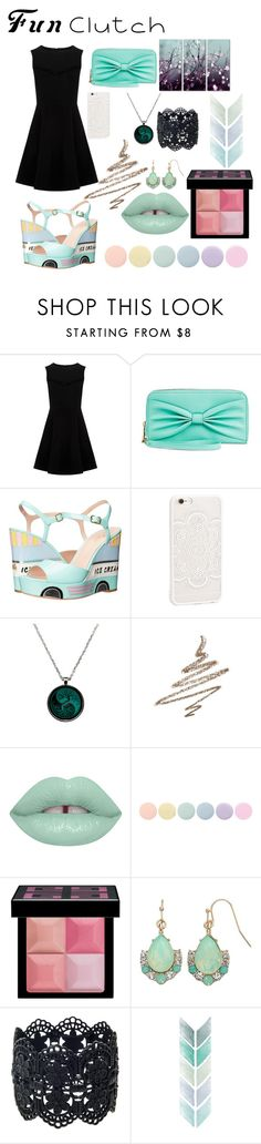 """""""Mint"""" by foreverxoxoxoxo ❤ liked on Polyvore featuring Kate Spade, JFR, Anastasia Beverly Hills, Deborah Lippmann, Givenchy, LC Lauren Conrad and Trademark Fine Art"""