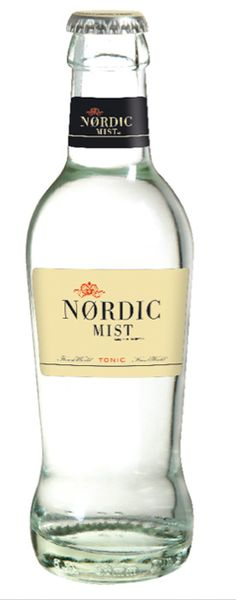 nordic mist Tonic Water, Gin And Tonic, Icecream Bar, Beverages, Drinks, Mixers, Food Packaging, Bottle Design, Milkshake