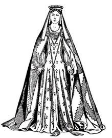 Elizabeth, Countess of Oxford, 2nd wife of Willliam, Viscount Beaumont 13th Earl of Oxford Wivenhoe Church, English Brass c.1537 (illustration)