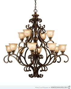 175 best wrought iron chandeliers images on pinterest laura lee 20 wrought iron chandeliers mozeypictures Choice Image