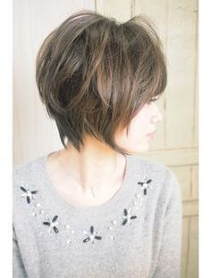 kind alike this? Short Hair With Layers, Layered Hair, Short Hair Cuts, Short Hair Styles, Cute Hairstyles For Short Hair, Hairstyles Haircuts, Pretty Hairstyles, Hair Affair, Great Hair