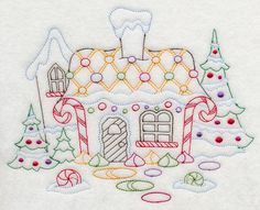 Learn Embroidery, Machine Embroidery Applique, Free Machine Embroidery Designs, Hand Embroidery Patterns, Vintage Embroidery, Cross Stitch Embroidery, Custom Embroidery, Embroidery Art, Christmas Embroidery