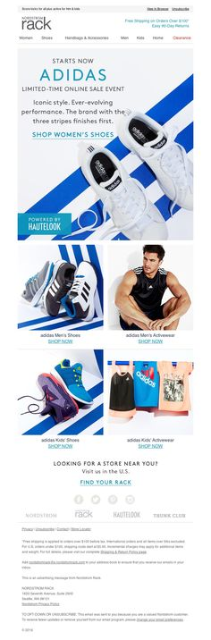 Nordstrom Rack - The adidas Event starts now! (Limited time only)