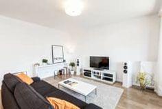 Salon de style de style Minimaliste par Perfect Space