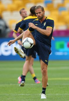 Olof Mellberg Photos: Sweden Training and Press Conference - Group D: UEFA EURO 2012