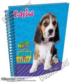 Cuaderno Pasta Dura Puppies http://escolar.papelesprimavera.com/product/cuaderno-pasta-dura-puppies-primavera-2/