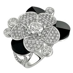 Rosamaria G Frangini | High Black Jewellery | Tuxedo Ring from CafeSociety Chanel - FineJewelry Collection