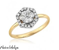 Dreamy Diamond Engagement Ring #halo