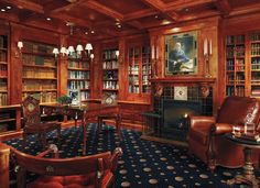 English Home Library Interior Design | Design Awards 2010 - Interiors Black Manor Library- picture 3