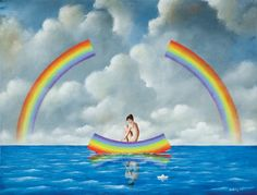 Rafal Olbinski, 1943 | Surrealist painter | Tutt'Art@ | Pittura * Scultura * Poesia * Musica |
