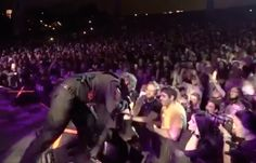 Watch Slipknot Frontman Knock Phone Out Of Distracted Fan's Hands
