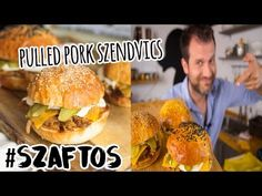 A legszaftosabb pulled pork szendvics Kitchen Pulls, Pulled Pork, Grilling, The Creator, Make It Yourself, Ethnic Recipes, Youtube, Beverages, Food