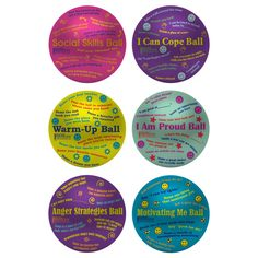 Teen Counseling Balls Collection-The Guidance Group