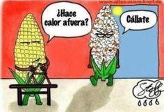 Spanish jokes for kids, chistes para niños Cartoon Jokes, Funny Cartoon Pictures, Funny Cartoons, Funny Jokes, Pms Funny, Funny Humour, Menopause Humor, Spanish Jokes, Hilarious Pictures