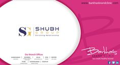 Heartiest Congratulations to #Shubh Group- A Real Estate Brand for their #brand#logo created by us. — at Barkha's Brand Clinic. — at Barkha's Brand Clinic.