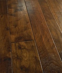 "Show details for Palmetto Road Reserve Hardwood Collection Walnut- Kinsley 4"", 6"", 8"" Dark brown hardwood, handscraped, wide plank"