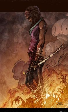 """"""" The Walking Dead: Michonne - by Oliver Nome and Danny Morales """""""