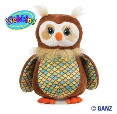 Webkinz Opal Owl- Reminds me of my Grandma and her numerous dolls of the sort.