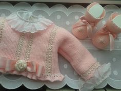 Knitting For Kids, Crochet For Kids, Baby Knitting, Knit Crochet, Knitted Baby Cardigan, Knit Baby Sweaters, Baby Boutique, Knitting Designs, Baby Accessories