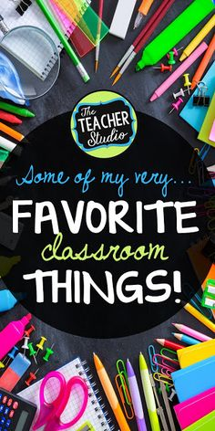 "Some of my classroom ""must haves""! - for back to school AND all year long.  Check out these helpful classroom tools and tricks!"