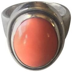Georg Jensen 830 Silver Coral Ring No. 46A by Harald Nielsen