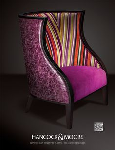 Hancock Mooreu0027s Serpentine Chair, Handcrafted In NC. I Wish One Of You  Would Come In And We Could Design One Of These Beauties Together!