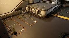 ArtStation - Warzone Homebase Interior - Halo 5: Guardians, Mark Nicolino