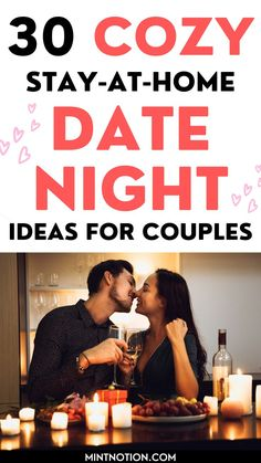 Date night ideas at home. If you're stuck at home, here's the best romantic date night ideas for couples. This list includes DIY date night ideas, gourmet food, creative and unique date nights for married or couples. At home date ideas for him. Romantic Date Night Ideas, Romantic Dates, At Home Dates, At Home Date Nights, Life On A Budget, Paying Off Student Loans, Frugal Living Tips, Stay At Home, Love Your Life