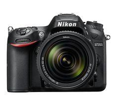 Comparta su visión creativa con una asombrosa definición con la primera DSLR de Nikon con funciones integradas de Wi-Fi y NFC.