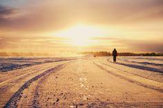 En dag på isen! #snow #ice #winter #sunet