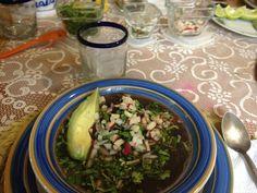 Frijol con puerco un platillo tradicional de Yucatán