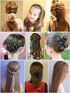 Kids Hairstyles  these are so cute