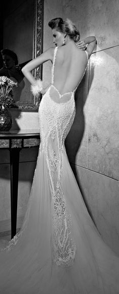 Galia Lahav : Tales of the Jazz Age Bridal Collection - Part I ~getting ready to attend A Grand Masquerade ~