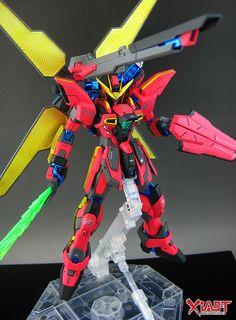GUNDAM GUY: MG 1/100 Gundam X Maoh - Customized Build