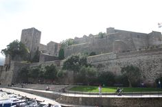 Knights Templar fortress at Collioure