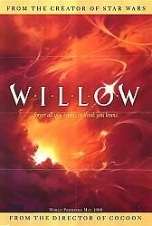 Willow - just watched it again the other day.  Classic!  (Courage, Willow)
