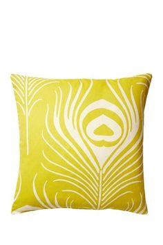 "Karma Pillow - 18"" x 18"" - Citron"