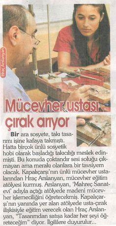 Sabah Gazetesi www.mahrecsanatevi.com