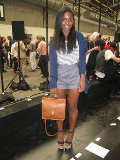 Fashion News Editor Rajni Lucienne Jacques #glamour