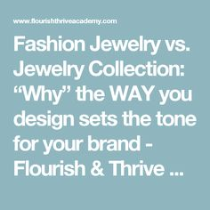 Jewelry Marketing   Crucial Components To Lay A Strong