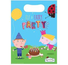 Ben and holly #party loot bags #birthday present #girls and boys , View more on the LINK: http://www.zeppy.io/product/gb/2/322251821423/