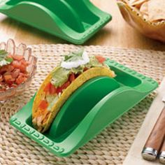 Taco Plates for Taco Tuesday!