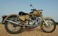 """The Royal Enfield Classic Desert Storm highlights an one of a kind """"sand"""" paint plan reminiscent of the First and the Second World War period – a period when Royal Enfield cruisers were among the regular type of utilities for fighters in the desert."""