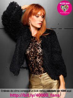Chaqueta de pelo sintético  #venca ¡Haznos repin y consigue un look valorado en 100 €! :)