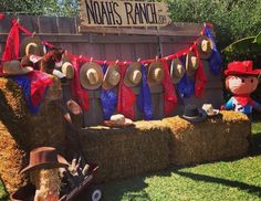 Ranch/cowboy themed birthday. This is super cute and when Riley is around 5 or 6 I am totally doing this!!