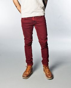 Nudie: red tight longjohns
